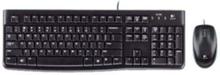 MK120 Desktop - ND - Näppäimistö ja Hiirisetti - Pohjoismainen - Musta