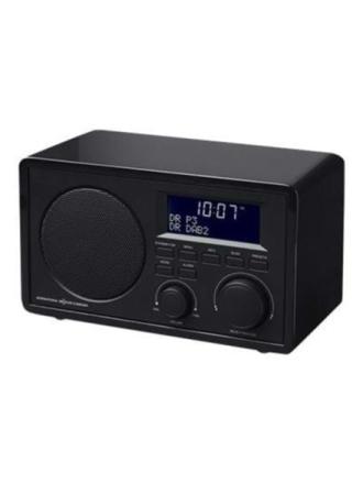 DAB bærbar radio IKR1440DAB - DAB/DAB+/FM - Mono - Sort