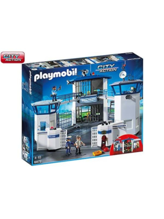 - City Action - Police headquarter with prison - 6872 - Proshop