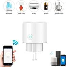 1/2/3/4pcs Wireless Smart Plug Intelligent WiFi Socket US EU UK Power Outlet Remote Control Work with Google Home Alexa IFTTT