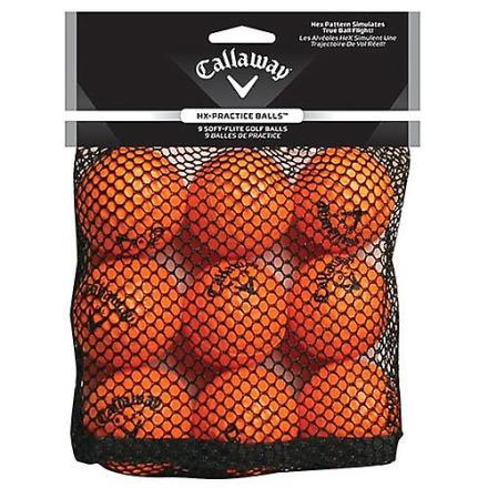 Callaway 9-Pack HX praksis golfballer