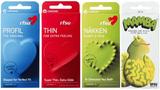 Rfsu-kondomer! 4 x 10 st, profil, thin, näkken, ma