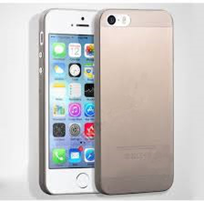 Transparent rökfärgat plast skal till iphone 5/5s