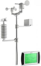 Beaufort 100m trådlös väderstation LCD-Display solpanel