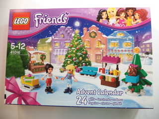 Lego friends advent calendar - modell 41016