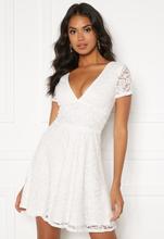 BUBBLEROOM Lexi lace dress White 40