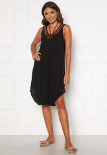 Happy Holly Sandy beach dress Black 44/46