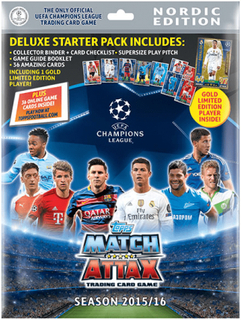 Topps ma champions league 15-16 startpaket nordic edition