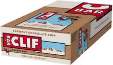 CLIF Bar Energy Bar Box 12 x 68g Coconut Chocolate Chip 2020 Näringstillskott & Paket