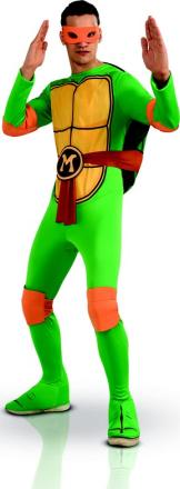 MichelangeloTeenage Mutant Ninja Turtles - kostume voksen - Vegaoo.dk