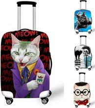 Personalisierte Katze Gepäck case schutzhülle wasserdicht und abriebfest