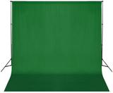 Fotobakgrund 300 x 300 cm grön