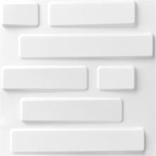 WallArt 3D vægpaneler mursten 12 stk. GA-WA02