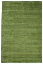 Handloom fringes - Grön matta 160x230 Modern Matta