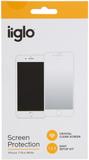 Iiglo iphone 7 plus skärmskydd - vit