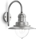 Philips Vägglampa myGarden Raindrop silver 53 W 01