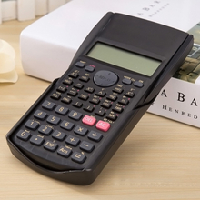 Multi-function 2-Line Student Function Calculator LCD Display Scientific Calculator Counter Calculating Machine QJY99