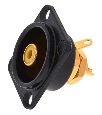 Neutrik NF2 D-B-4 Yellow