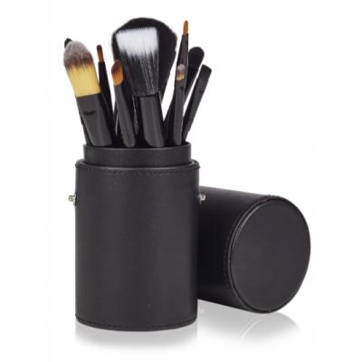 Basics Makeup Brush Set Black 12 kpl
