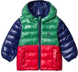 United Colors of Benetton Rain Defender Color Block Täckjacka EL (11-12 år)