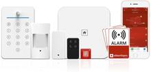 Sikkerthjem S6EVO komplett larmsystem - Lägenhetspaket