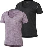 Reebok element marmor Womens damer gym T-Shirt Sva