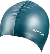 BECO metalliskt silikon simning Cap - bensin grön 603c7ab05af2d