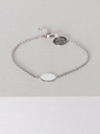 SOPHIE By SOPHIE Plate Bracelet Sølv