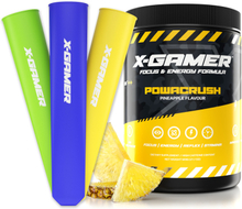 600g X-Tubz Powacrush - 60 Portioner + Ice Lolly Tubes
