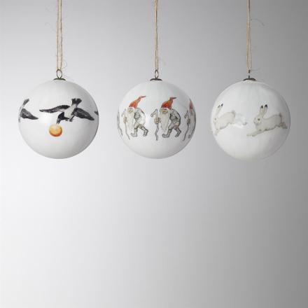 Elsa Beskowin joulukuusenkoriste, 3 kpl setti nro 4