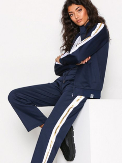 Franklin & Marshall Fleece Uni Zip Long Cardigans Navy