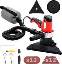 vidaXL 2-i-1 Elektrisk slipmaskin med 24 sandpapper 850 W