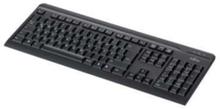 KB410 - tangentbord - Amerikanska/ryska - Tangentbord - Svart