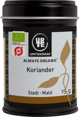 Urtekram Koriander Mald EKO 15 g