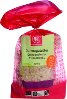 Urtekram Quinoagaletter Øko 100 g