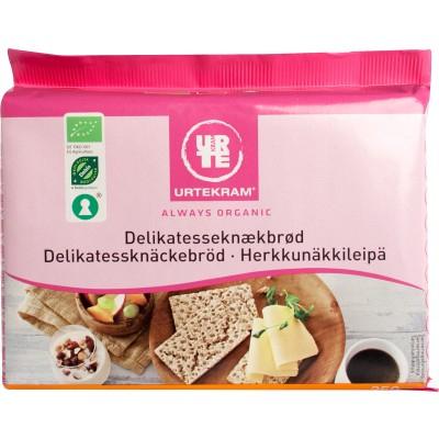 Urtekram Delikatesse Herkkunäkkileipä Luomu 250 g