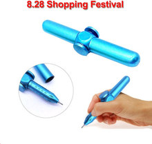 Hand Fidget Spinner Metal Fidget Pen Novelty Fidget Spinner Anti Stress Pen For School Pen Interesting Anxiety Stress Relief Toy