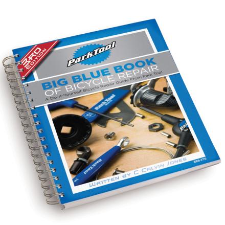 Park Tool Big Blue Instruktør Mekkebok Gjør det selv! Markedets beste mekkebok!