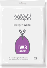 Joseph Joseph Intelligent Waste IW3 17 liter affaldssæk - 20 stk