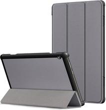 Tri-Fold Lenovo Tab M10 Folio Cover - Grå