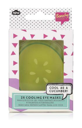 NPW Agurk gjenbrukbare kjøling øye maske angitt