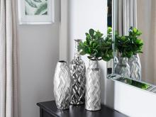Beliani Vas silver ARPAD