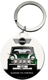 Officiella Classic Mini Cooper bil runda metall Keyring - British R...