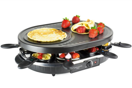Andrew James traditionel Raclette