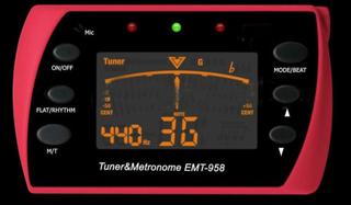 Tuner metronomen för gitarrer - gitarr tillbehör