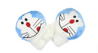 Childrens nyhet Blue Cat myk ullen dyr vanter