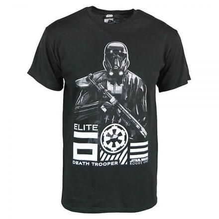 Star Wars Herre Star Wars Rogue en Elite død T Shirt sort Xl - Ches... - Fruugo