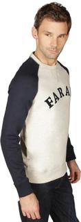 Farah Vintage Kray Ragla tröja i Marinblå Marinen XL