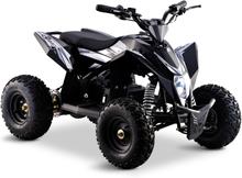Premium El-ATV för barn | Litiumbatteri | 1300W | Svart