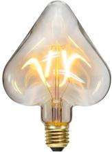 Star Trading Dekoration LED filament E27 Hjärta 353-92 Replace: N/AStar Trading Dekoration LED filament E27 Hjärta